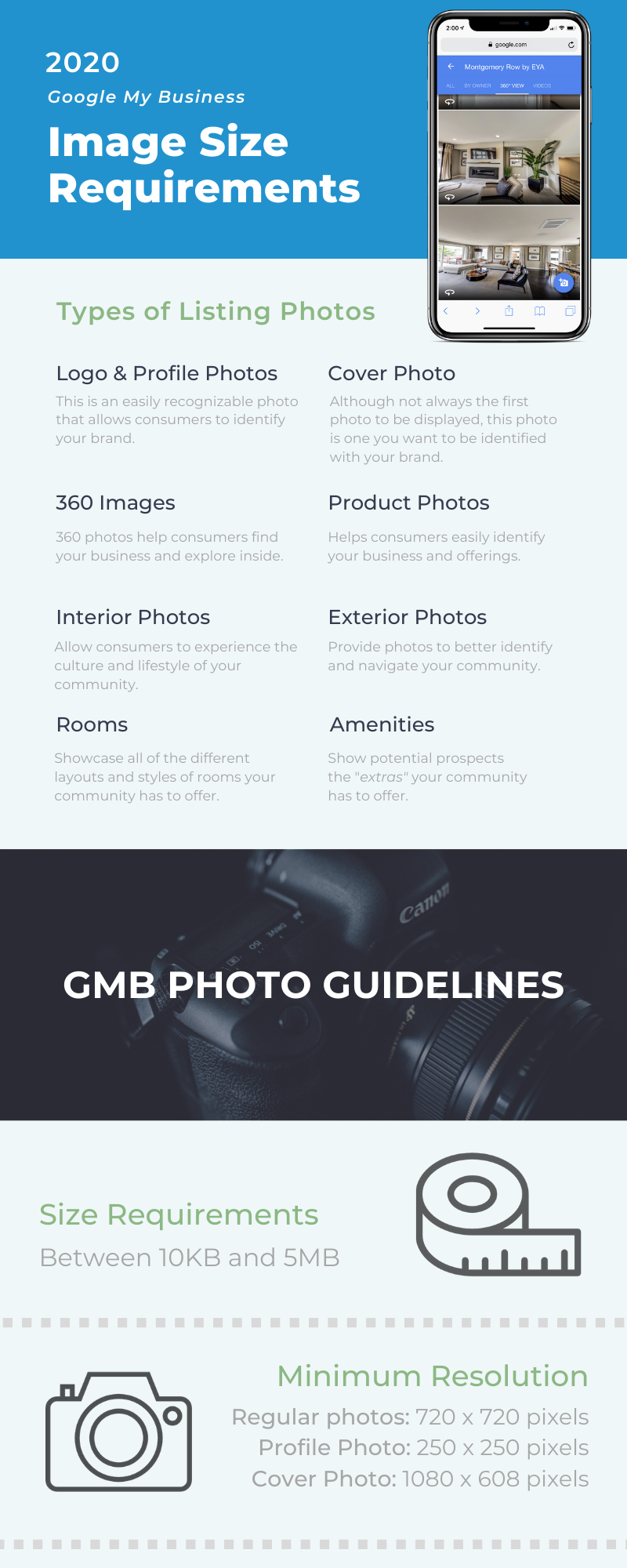 Copy of 2020 GMB Listing Photo Requirements