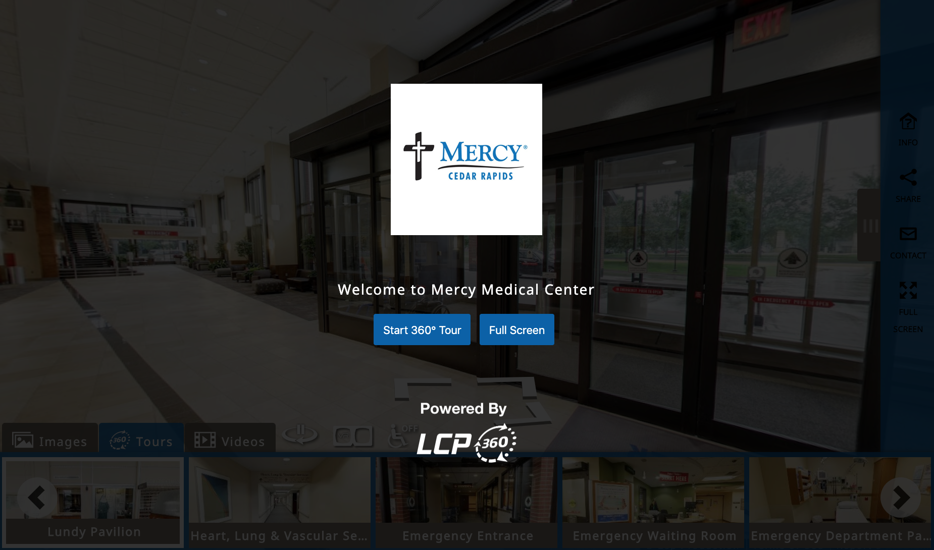 Mercy Medical Center Panoskin Tour