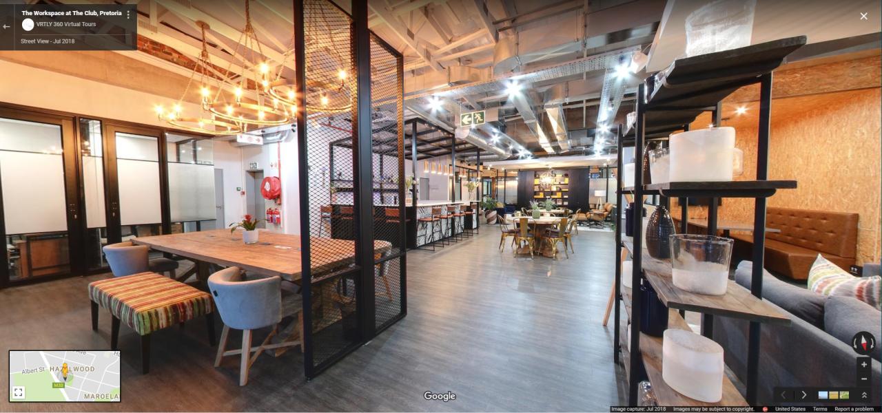The Workspace Lounge in Pretoria, South Africa