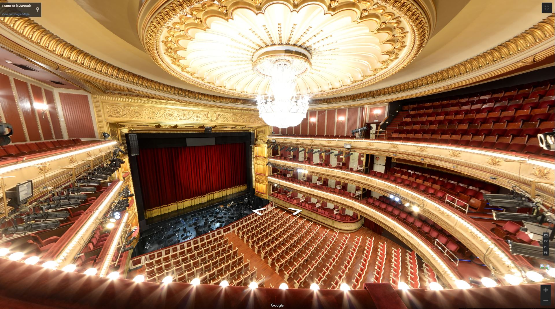 Teatro de la Zarzuela in Madrid, Spain | Tour Tuesday Feature
