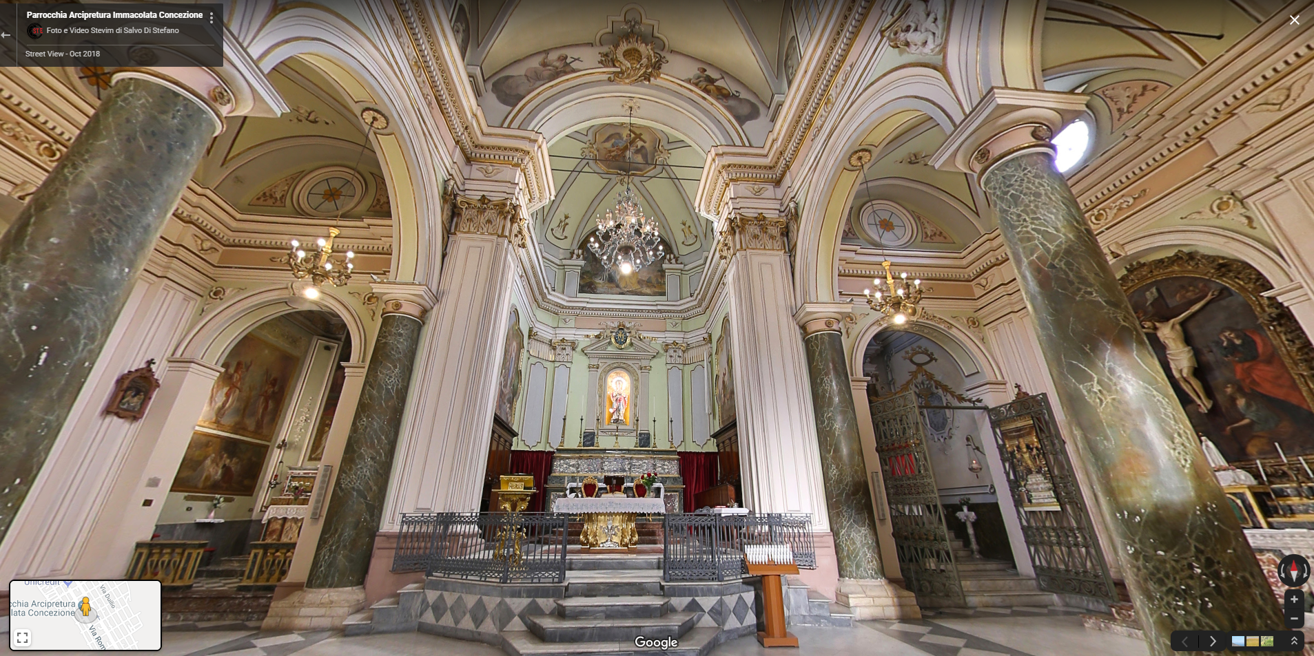 Our November Tour Tuesday winner is Salvo Di Stefano, with the Chiesa Madre Di Carlentini