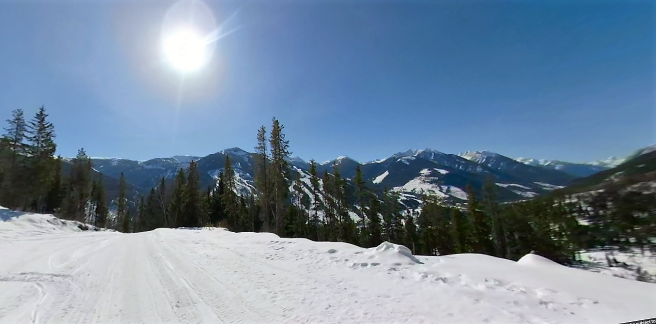 Toby Creek Adventures by Chris Conway is April's Featured Street View